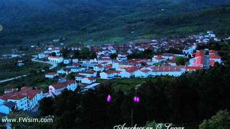 San Martin de Trevejo. Fogus muuyy artificiais.   YouTube