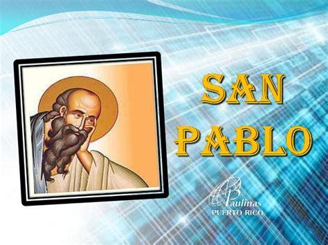 San Pablo y sus viajes