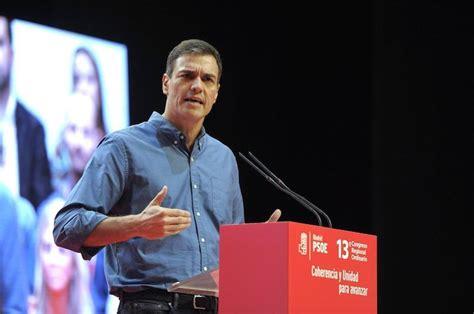 Sánchez:  El independentismo ha renunciado a gobernar ...