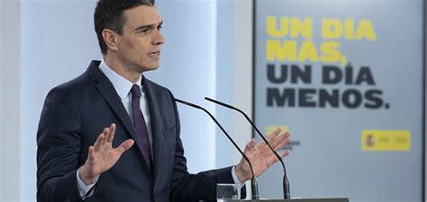 Sánchez: Mi prioridad seguirá siendo la salud y la ...
