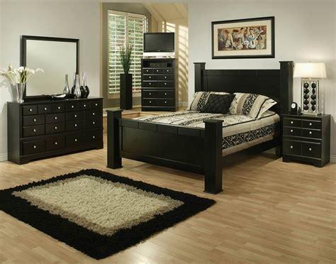 Sandberg Elena 33412F 33412H 33462R Black Queen Size Wood ...