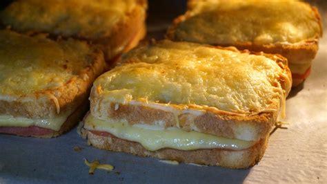 Sándwich croque monsieur  receta fácil y rápida    Anna ...