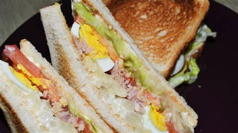 Sándwich Vegetal   Recetas de cocina fáciles y rápidas ...