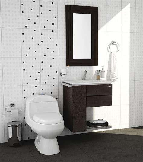 Sanitarios y muebles para baños pequeños #Corona ...