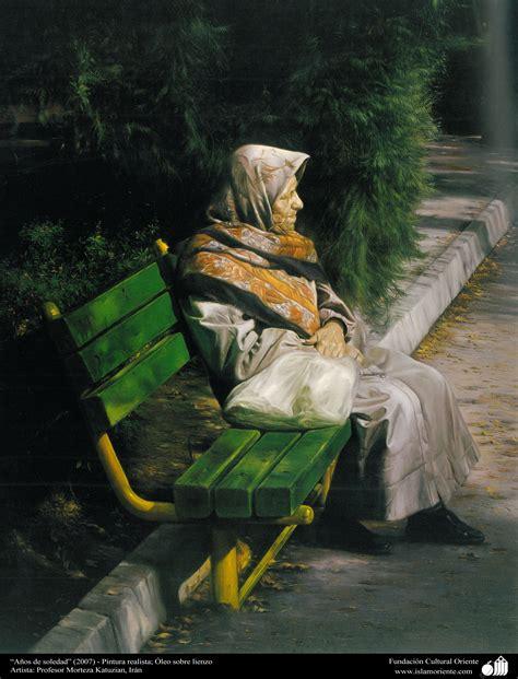 """""""Años de soledad""""  2007    Pintura realista; Óleo sobre ..."""