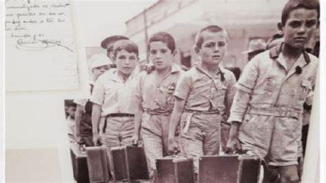 Sant Boi recuerda los niños de la guerra