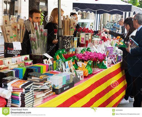 Sant Jordi Feast In Catalonia Editorial Image   Image of ...