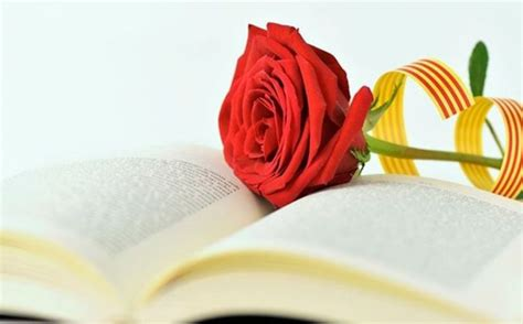 Sant Jordi, the day of the book, the rose and of lovers ...