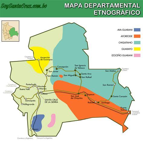 Santa Cruz Bolivia Mapa