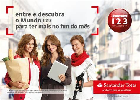 Santander abre consulta para conta de publicidade em Portugal