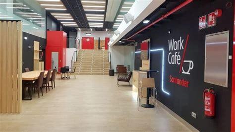 Santander abre un Work Café en la antigua sede de Pastor ...
