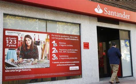Santander agiliza el trasvase de clientes a la cuenta 1/2/3