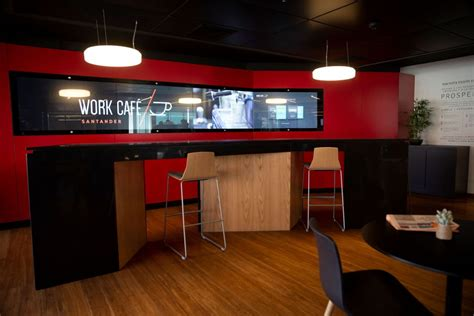 Santander café branches in Chile include Zytronics ...