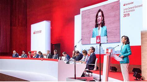 Santander coloca sus objetivos de banca responsable al ...
