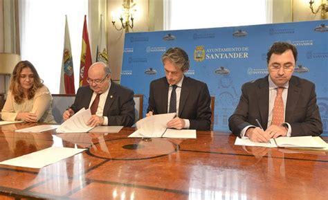 Santander, la UC y FCC firman el II Programa de Gestión ...