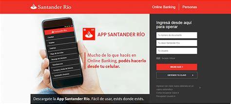 Santander Río   Canales de atención   Online Banking