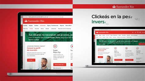 Santander Río   Online Banking on Vimeo