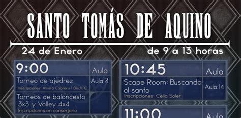 Santo Tomás de Aquino 2020 – IES Alfonso X el Sabio