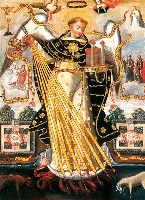 Santo Tomás de Aquino, Doctor de la Iglesia  con Imágenes