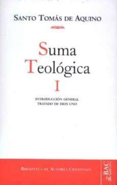 SANTO TOMAS DE AQUINO: SUMA TEOLOGICA I | VV.AA. | Comprar ...
