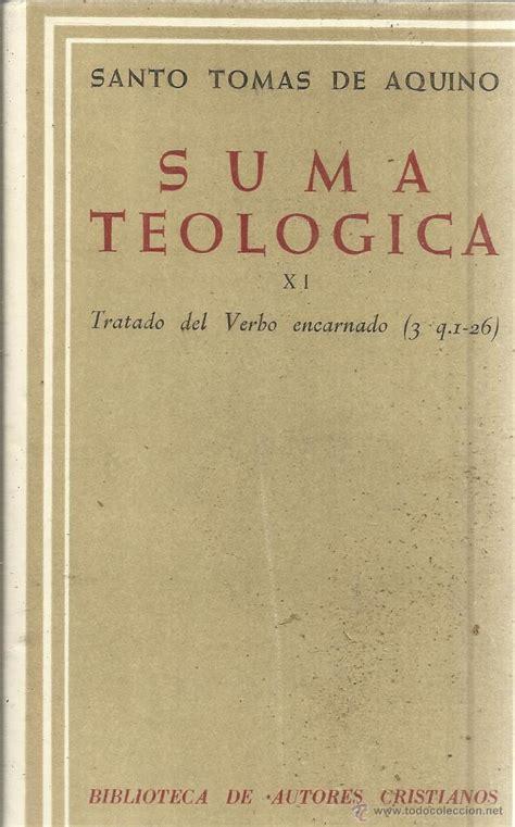 SANTO TOMAS DE AQUINO SUMA TEOLOGICA PDF DOWNLOAD