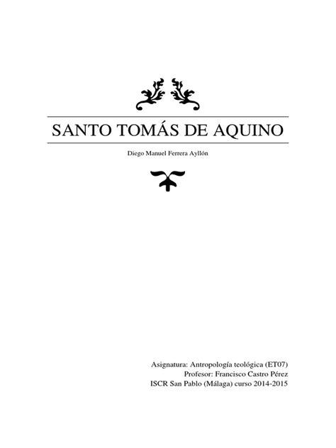 Santo Tomás de Aquino | Tomás de Aquino | Dios
