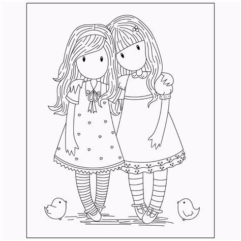 Santoro | Gorjuss para colorear, Dibujos y Dibujos para ...