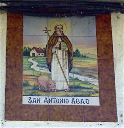 santos protectores san benito y san antonio abad   sabioos ...