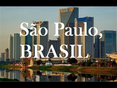 São Paulo, BRASIL ¡Ciudad imprecionante!¡Amazing City ! HD ...
