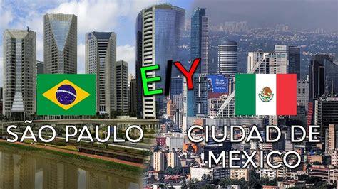 são paulo + ciudad de Mexico   YouTube