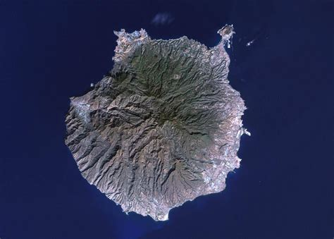 Satelite | Canary islands, Tenerife, Aerial view