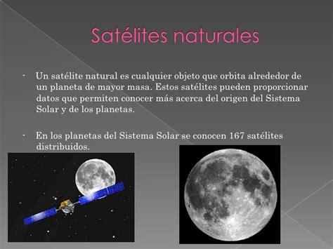 Satélites naturales del sistema solar