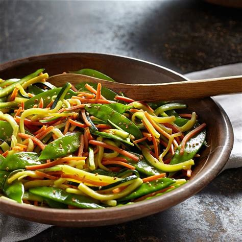 Sauteed Vegetables with Garlic & Soy Sauce