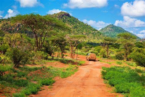 Savanna landscape in Kenya, Africa ~ Nature Photos ...