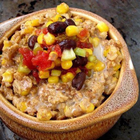 Savory Mexican Corn Oatmeal Recipe | Yummly | Recipe ...