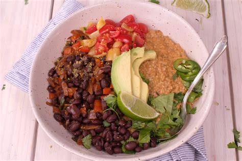 Savory Mexican Steel Cut Oats   Meatless Makeovers