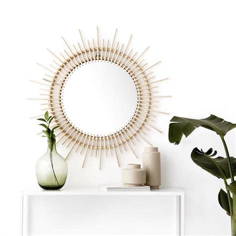 Sayu espejo decorativo de ratán   Espejos, Espejos ...