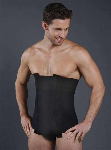 SC 205 Male Abdominoplasty Girdle for post op compression