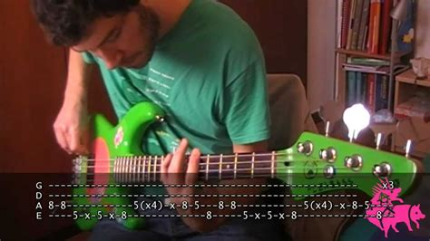 Scar Tissue bass TAB Red Hot Chili Peppers   YouTube
