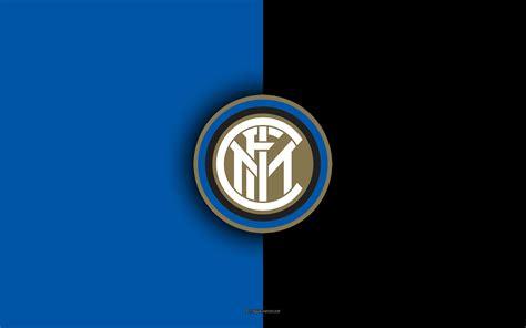 Scarica sfondi FC Internazionale Milano, 4k, logo, stemma ...