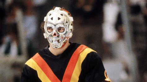 Scariest NHL goalie mask: Gary Bromley   YouTube