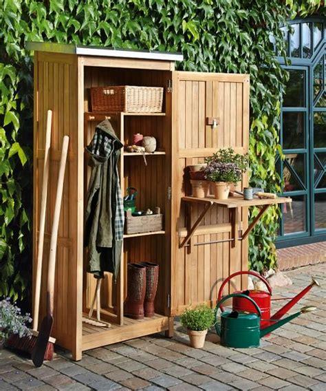 SCHÖNER WOHNEN | Garten geräteschuppen, Geräteschrank ...