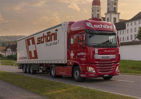 Schöni Transport AG   Transport Schweiz + International