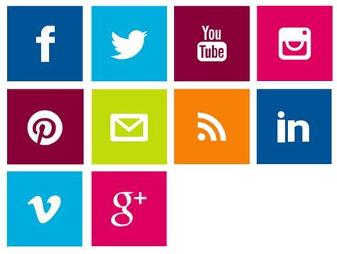 Schoolwires / Global and Social Icons