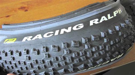 SCHWALBE RACING RALPH PERFORMANCE TYRE 2.25   YouTube