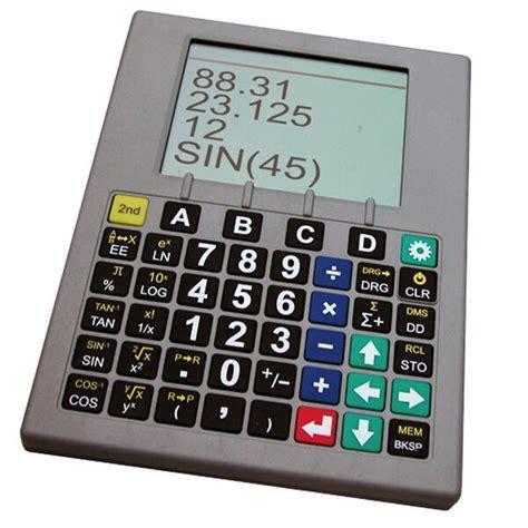 Sci Plus Calculator 2300, Talking Scientific Calculator ...