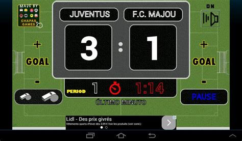 Scoreboard Football Games   Android Apps on Google Play