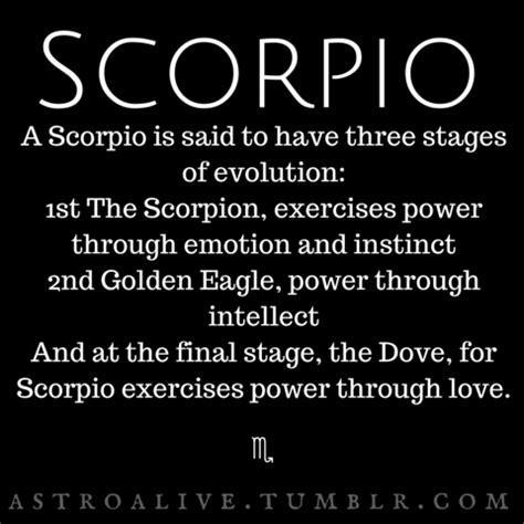 scorpio characteristics | Tumblr