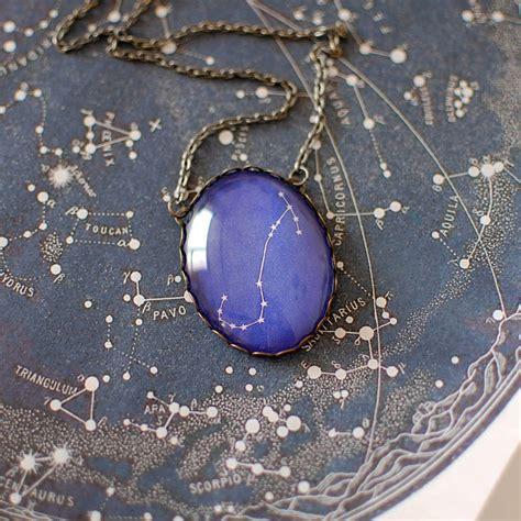 scorpio constellation zodiac necklace by juju treasures ...