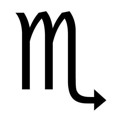 Scorpio Symbol Astrology Charms